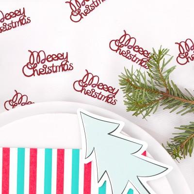 KONFETTI świąteczne Merry Christmas