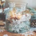 POJEMNIK szklany do własnej aranżacji Mały 18cm
