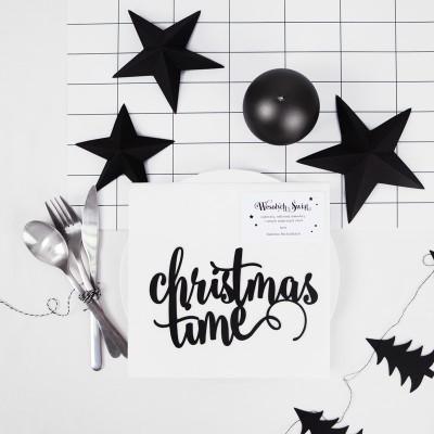 CIASTECZKA świąteczne z wróżbą Christmas Time PERSONALIZOWANE 10szt