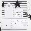 KARTKA świąteczna personalizowana Christmas Time (+koperta z wnętrzem+naklejka)
