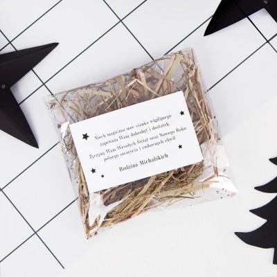 SIANKO wigilijne personalizowane Christmas Time