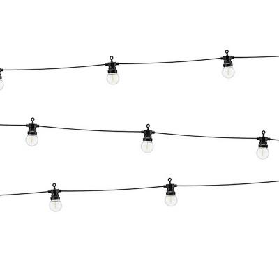 GIRLANDA dekoracyjna z żarówek LED 10 żarówek 5m