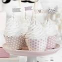 FOREMKI papilotki na muffinki Sweets 6szt