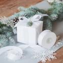 WSTĄŻKA tasiemka satynowa do prezentów 2,5cm 25m RÓŻNE KOLORY
