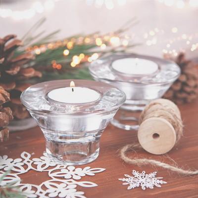 ŚWIECZNIK 2w1 do świec długich i tealightów