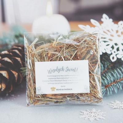 SIANKO wigilijne personalizowane Z LOGO FIRMY Snowland