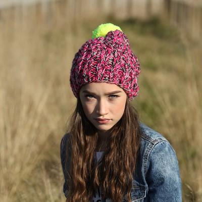 CZAPKA zimowa Bold, brave and be you RĘCZNIE ROBIONA W POLSCE