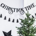 BANER dekoracyjny Christmas Time 80cm