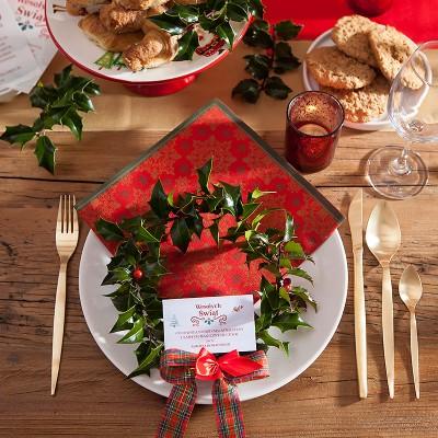 CIASTECZKO świąteczne z wróżbą Boże Narodzenie PERSONALIZOWANE