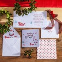 KARTKA świąteczna personalizowana Boże Narodzenie (+koperta z wnętrzem+naklejka)