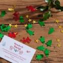 KONFETTI świąteczne Choinki i renifery