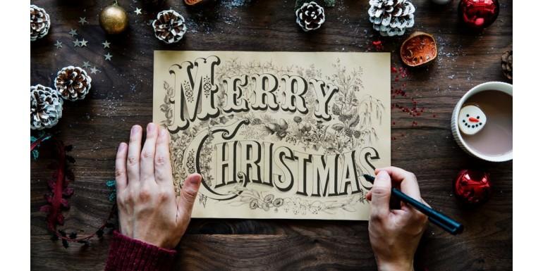 Ekartki świąteczne. Historia kartek świątecznych