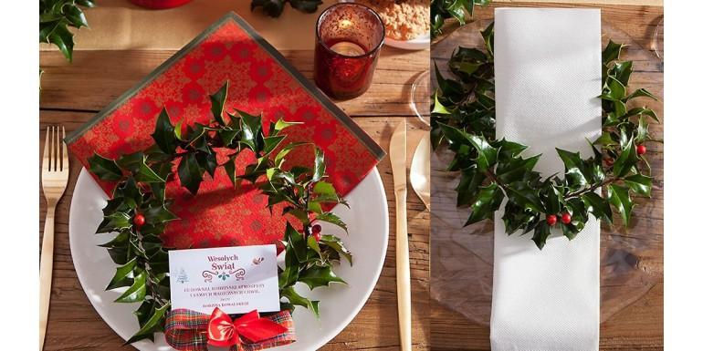 Najpiękniejsze serwetki świąteczne TOP 60 Boże Narodzenie