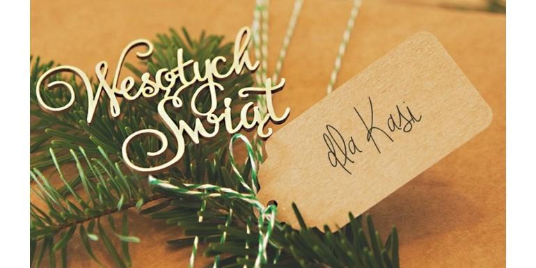 Najpiękniejsze zawieszki do prezentów świątecznych