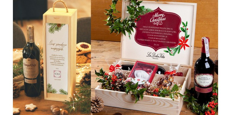 Pomysły na świąteczne prezenty firmowe na Boże Narodzenie 2019 - zestawy świąteczne, firmowe prezenty z logo firmy TOP 10