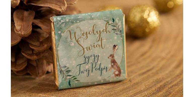 Słodkie prezenty świąteczne, kosze prezentowe ze słodyczami