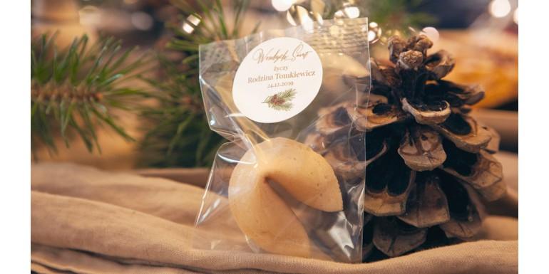 Świąteczne ciasteczka z wróżbą - pomysł na upominki dla gości!