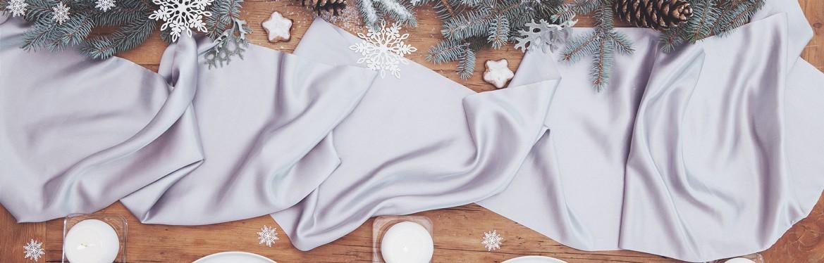 Bieżniki świąteczne i obrusy