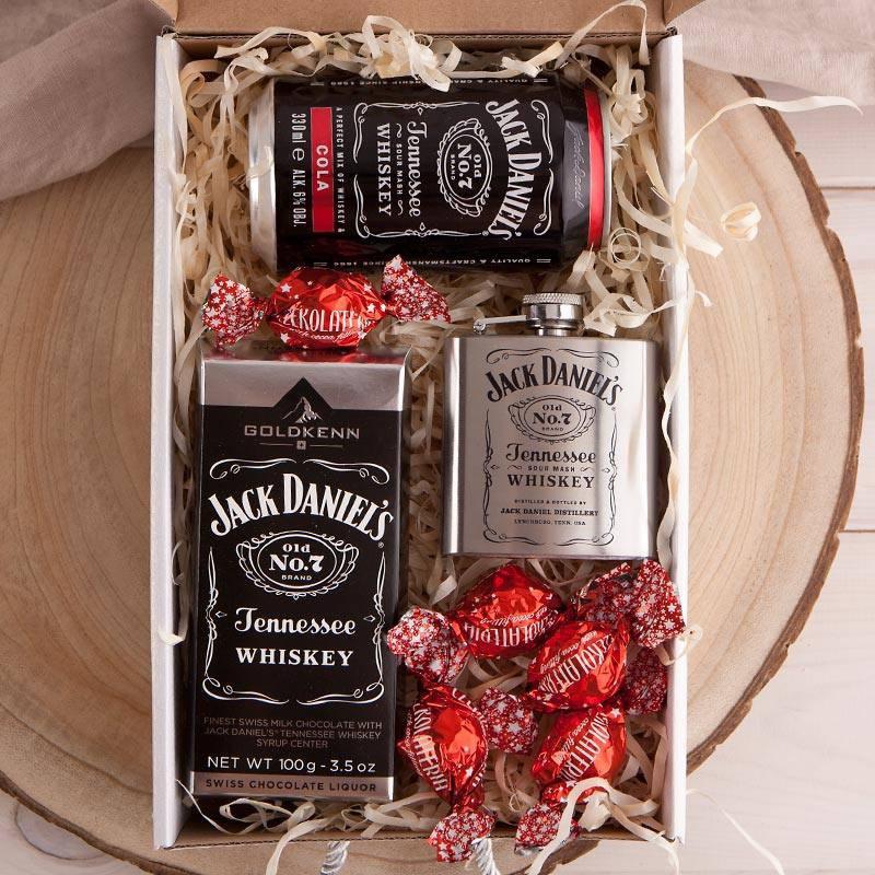 Kosz prezentowy Czekolada z whiskey